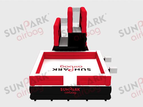Double Platform Jump Airbag