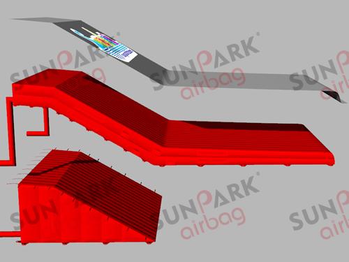 BMX Airbag 3 Chambers