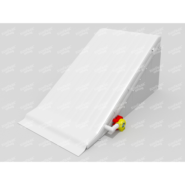 No Bounce Inflatable Landing Ramp Airbag (4)