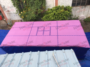 Inflatable Foam Pit Gymnastics Airbag (1)