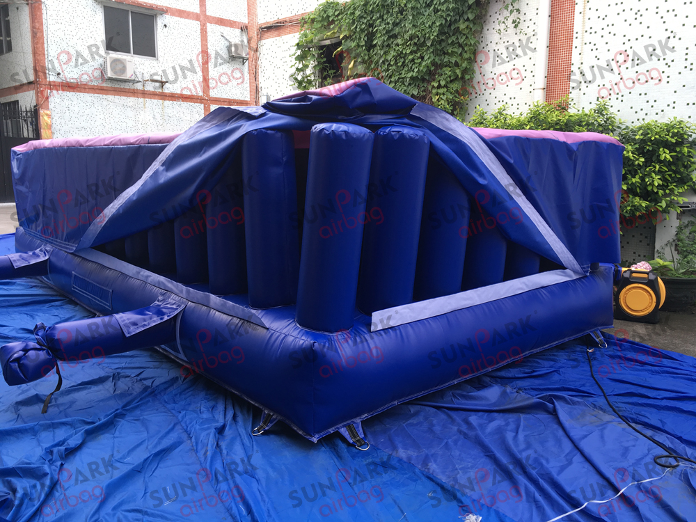 Inflatable Foam Pit Gymnastics Airbag (3)