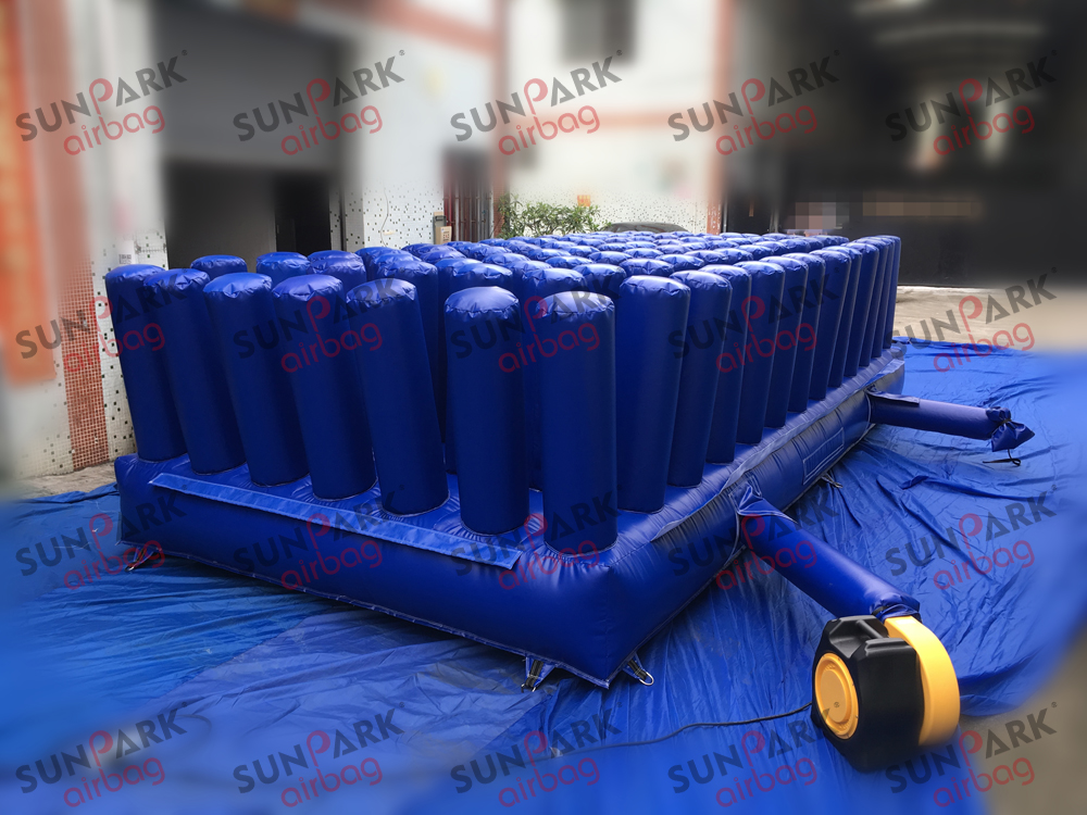 Inflatable Foam Pit Gymnastics Airbag (4)
