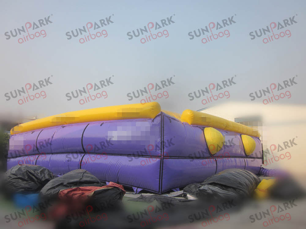 Ski Jump into Airbag (1)