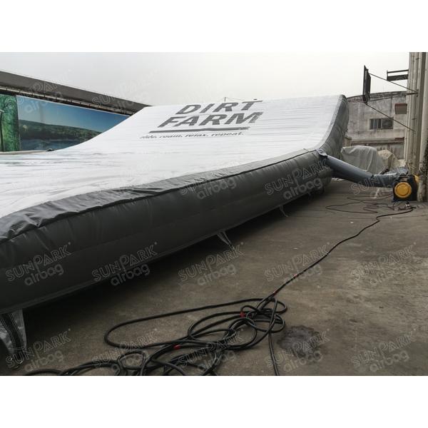 Inflatable Bike Landing (2)