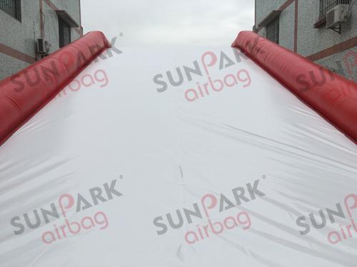 Sloped Airbag Landing Top Sheet
