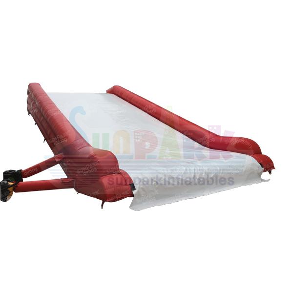 Snowboard Airbag Jump Landing