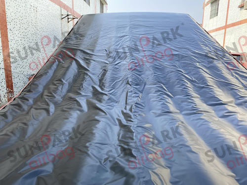 Dirt Bike Jump Landing Airbag Top Sheet