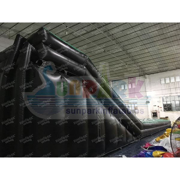 Inflatable BMX Landing