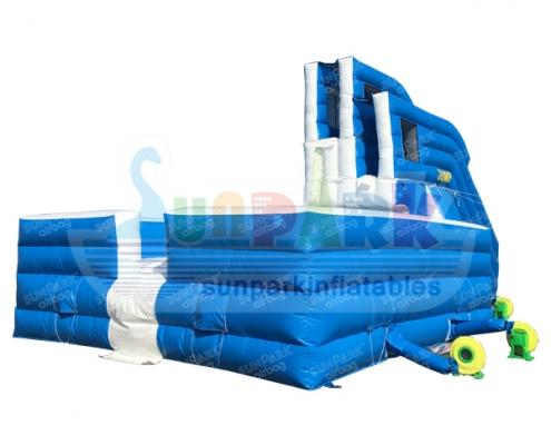 Inflatable Free Fall Airbag Stunt Jump (2)