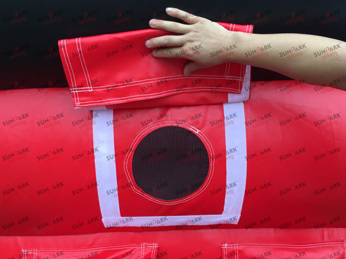 Skateboarding Airbag Top Sheet