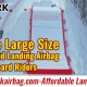 Large-Size-Snow-Sloped-Landing-Airbag-For-Snowboard-Riders China Manufacturer-SUNPARK